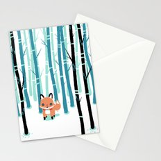 Fox in the Forest Stationery Cards