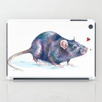 Rat love iPad Case