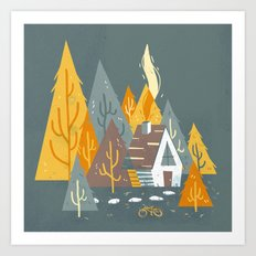 Forest Home Art Print