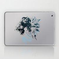 Snow Leopard (Blue) Laptop & iPad Skin