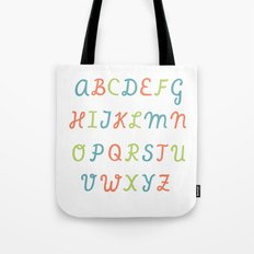 ABC...RGB... Tote Bag