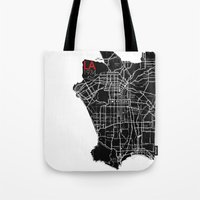 Los Angeles 1934 Tote Bag