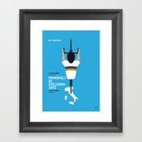MY Mondiali Di Ciclismo … Framed Art Print
