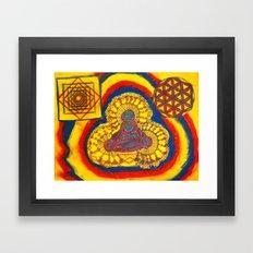 Namaste~ Ver.2 Framed Art Print