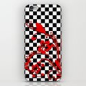 Optical and floral iPhone & iPod Skin