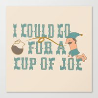 Cup O' Joe Canvas Print