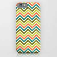 Citronique Series: Chevron Grand Sorbet iPhone 6 Slim Case
