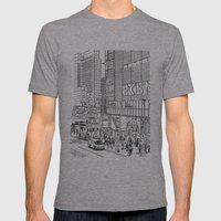 Tokyo - Shinjyuku Mens Fitted Tee Athletic Grey SMALL