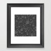 Breezy (Mono) Framed Art Print