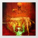 Demonic sacrifice Canvas Print