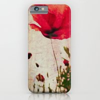 iPhone & iPod Case featuring Heavy Poppy by Deb Noyes