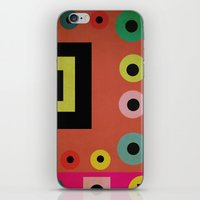mixed shapes iPhone & iPod Skin