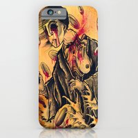 iPhone & iPod Case featuring japanese ghost by sharktankillustrations