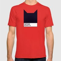 BATONE Mens Fitted Tee Red SMALL
