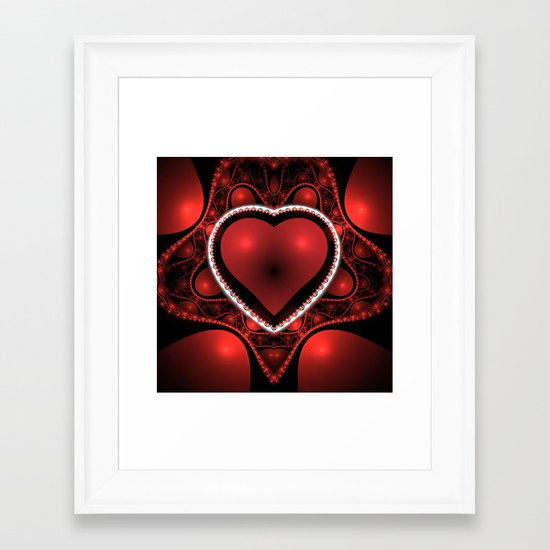 Valentine's Day is Coming! Framed Art Print
