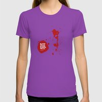Dexter no.2 Womens Fitted Tee Ultraviolet SMALL