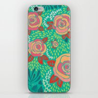 Pink Roses iPhone & iPod Skin