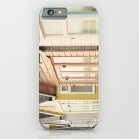 iPhone & iPod Case featuring English Beach Huts by Gisele Morgan