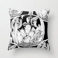 What Keeps Me Here? Throw Pillow