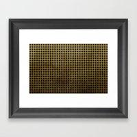 Royal Black - Textured P… Framed Art Print