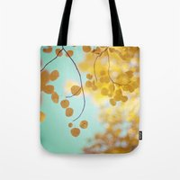 Nature's Gold Tote Bag