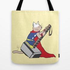 The Catty Thor Tote Bag
