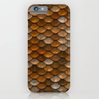 iPhone Cases featuring Transforming Into a Golden Mermaid #society6 by 83oranges.com