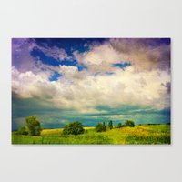 In a Landscape Canvas Print