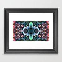 Microscopic Planets II Framed Art Print