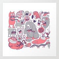 Ol' Doodle Art Print