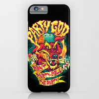 PARTY GOD (red) iPhone 6 Slim Case