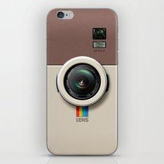 Lens LB300 Camera - insta - brown iPhone & iPod Skin