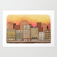 Apartments #7 Art Print