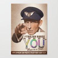The Trojan Horse Needs Y… Canvas Print