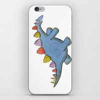 Stomp-a-saurus! iPhone & iPod Skin