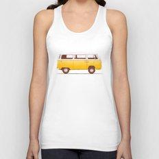 Yellow Van Unisex Tank Top