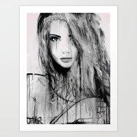 rumour Art Print