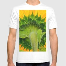 Sunflower's other side Mens Fitted Tee White SMALL