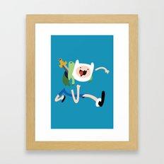 Adventure Time - Finn Framed Art Print