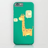 iPhone & iPod Case featuring Giraffe problems! by AnishaCreations