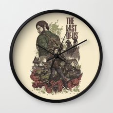 The Last of Us Artwork Wall Clock