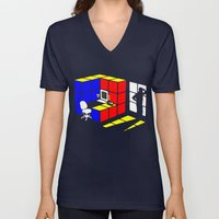 Rubix Cubicle Unisex V-Neck