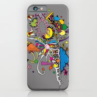 Colored Doodle iPhone 6 Slim Case
