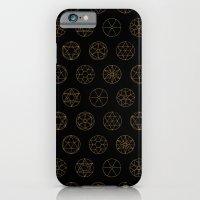Geocircles (Golden) iPhone 6 Slim Case