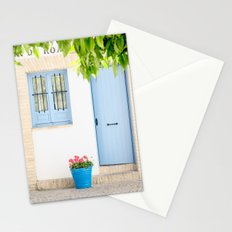 Blue and light Stationery Cards