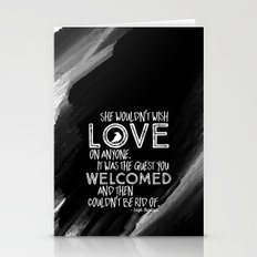 6 of Crows Book Quote design Stationery Cards