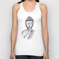 Shh... Do not disturb - Buddha Unisex Tank Top