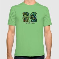 Homeboys (Cecil and Kain) Mens Fitted Tee Grass SMALL
