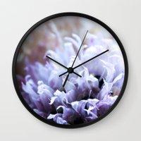 Flower Funeral Wall Clock