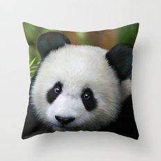 Giant Panda Cub Throw Pillow